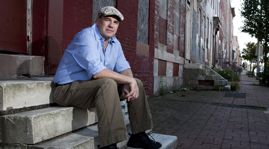 """David Simon, Autor der Serie """"Show Me a Hero"""" (Photo by Joshua Roberts/Getty Images for the MacArthur Foundation)"""